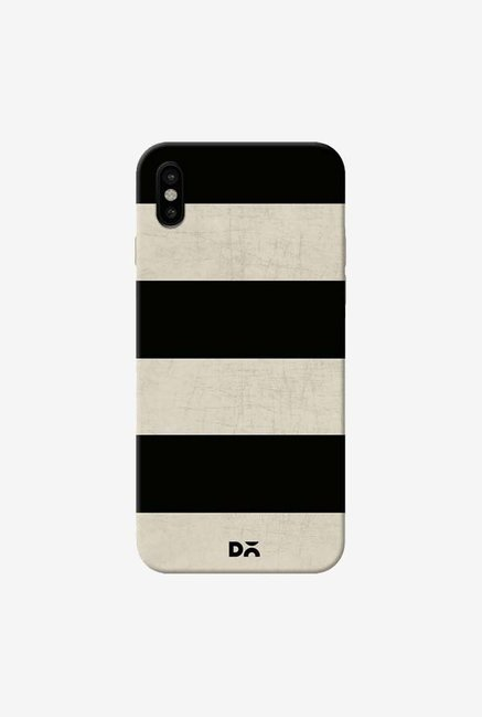 DailyObjects Vintage Black Stripes Case Cover For iPhone XS