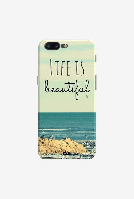 DailyObjects Life Is Beautiful Case Cover For OnePlus 5