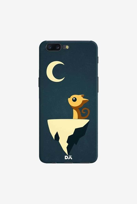 DailyObjects Moon Cat Case Cover For OnePlus 5