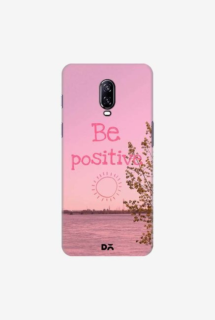DailyObjects Be Positive Case Cover For OnePlus 6T