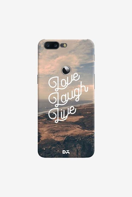 DailyObjects Love Laugh Live Case Cover For OnePlus 5T