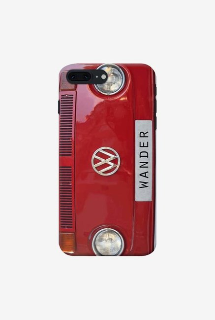 DailyObjects Wander Red Case For iPhone 7 Plus