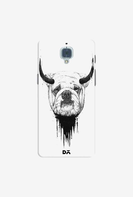 DailyObjects Bull Dog Case Cover For OnePlus 3T