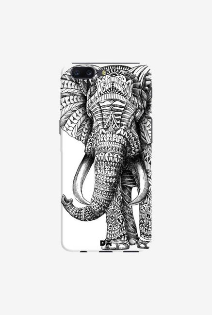 DailyObjects Ornate Elephant Case Cover For OnePlus 5