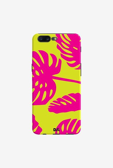DailyObjects Palms Bright Pink Case Cover For OnePlus 5