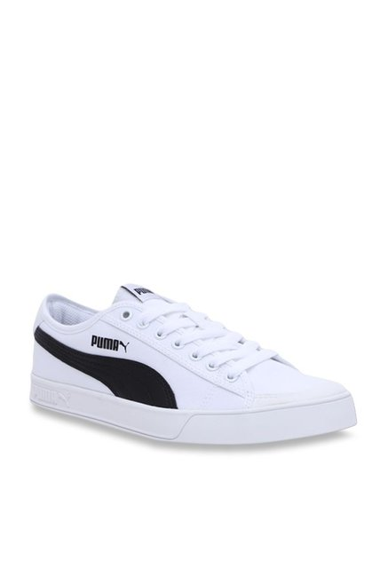 newest acf1b 4a589 Buy Puma Smash V2 Vulc CV White Sneakers for Men at Best ...