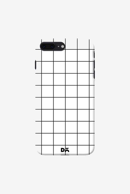 DailyObjects Grid White Case Cover For iPhone 7 Plus