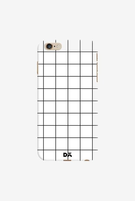 DailyObjects Grid White Case Cover For iPhone 6 Plus