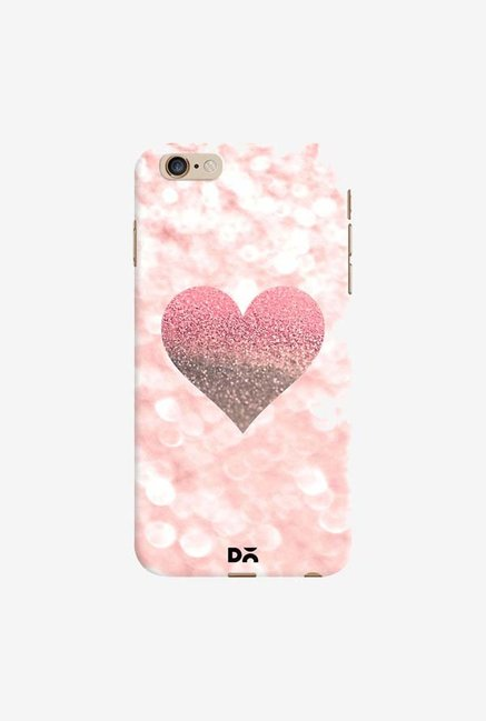 DailyObjects Champagne Heart Rose Case Cover For iPhone 6 Plus