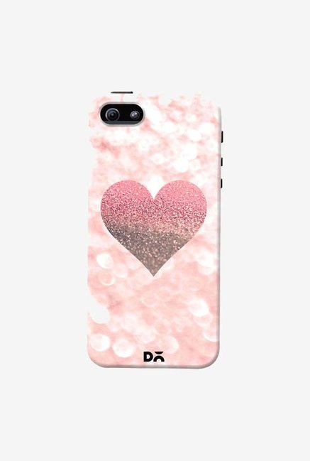 DailyObjects Champagne Heart Rose Case Cover For iPhone 5/5S