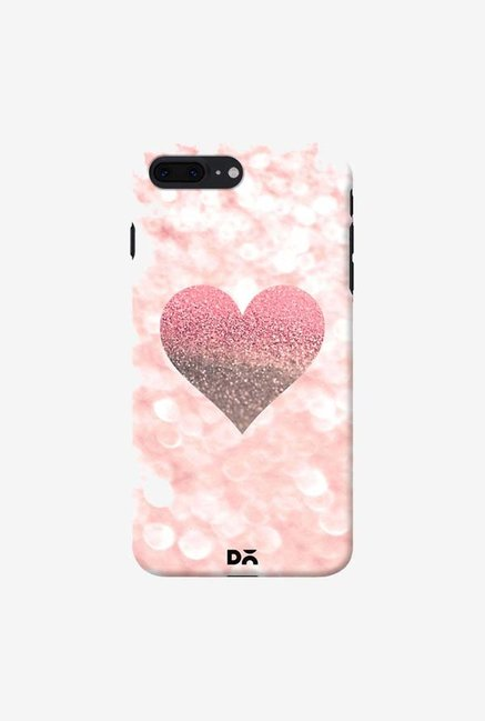 DailyObjects Champagne Heart Rose Case Cover For iPhone 7 Plus