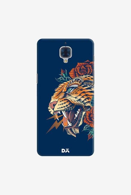 DailyObjects Ornate Leopard Blue Case For OnePlus 3T