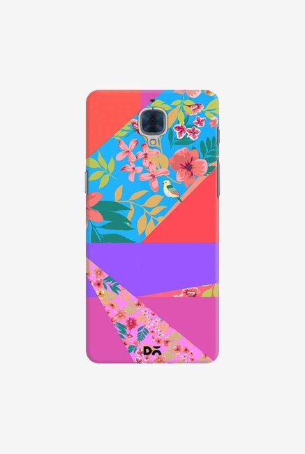DailyObjects Floral Diagonals Case For OnePlus 3T