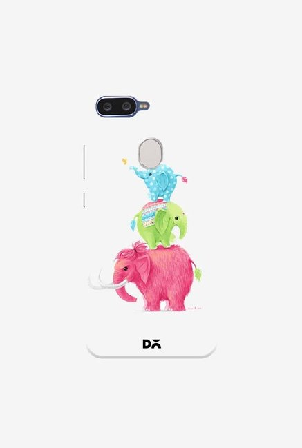 DailyObjects Candy Elephants Case Cover For Oppo F9 Pro