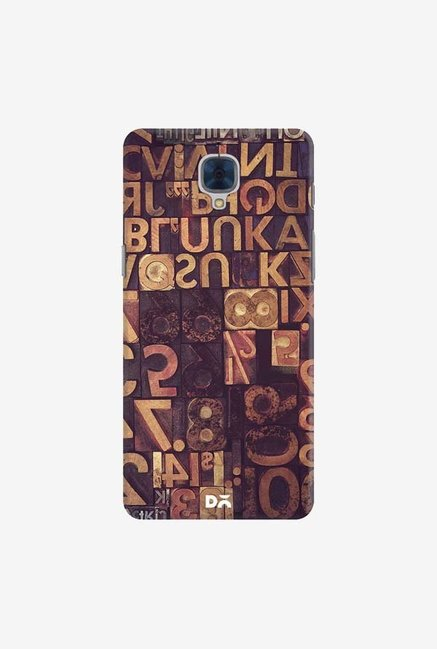 DailyObjects Typecase Case For OnePlus 3T