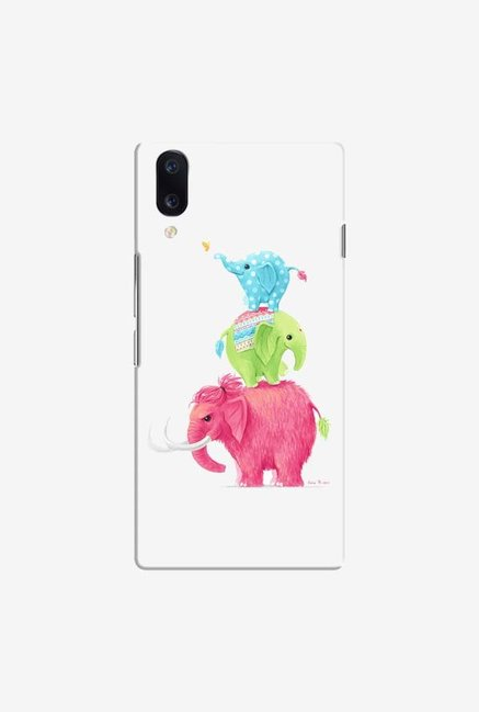 DailyObjects Candy Elephants Case Cover For Vivo V11 Pro
