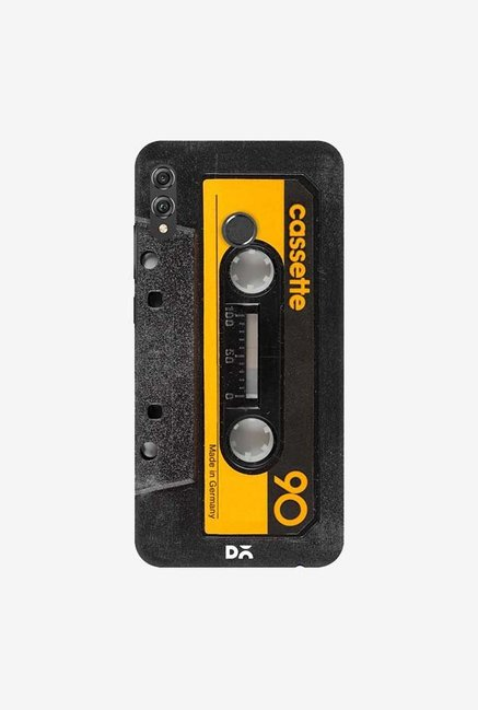 DailyObjects Cassette Yellow Case Cover For Huawei Honor 8X