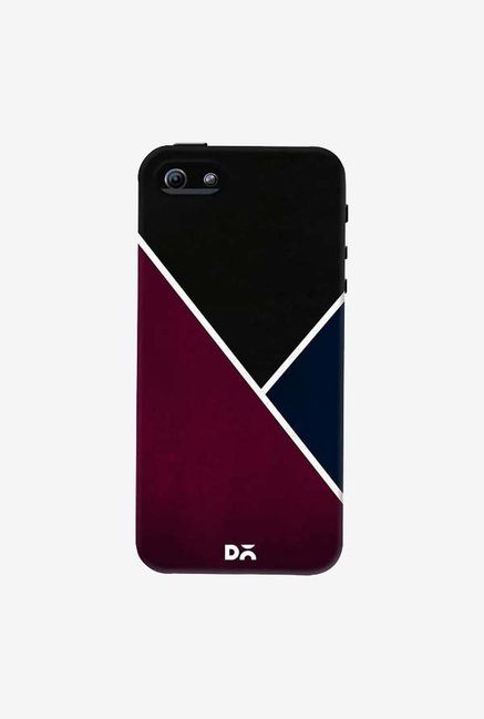 DailyObjects Red And Royal Case Cover For iPhone 5/5S