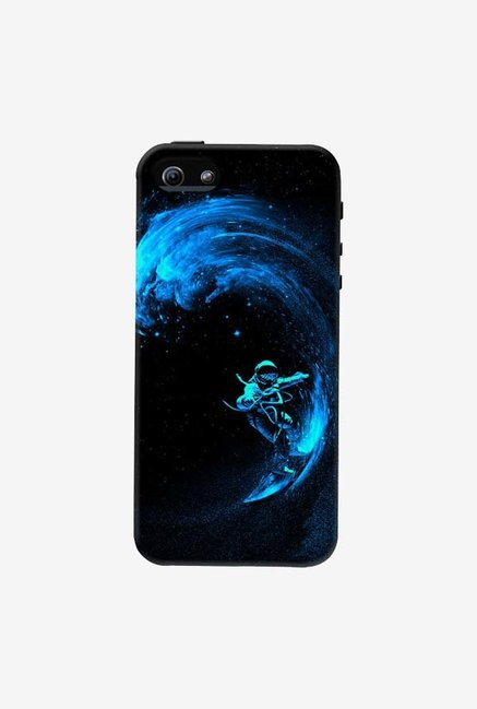 DailyObjects Space Surfing Blue Case For iPhone 5/5S