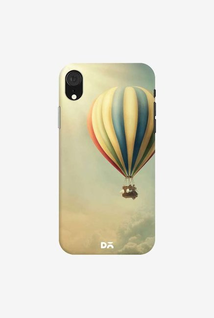 DailyObjects Up in the Retro Sky Case Cover For iPhone XR