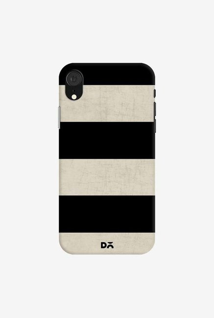 DailyObjects Vintage Black Stripes Case Cover For iPhone XR