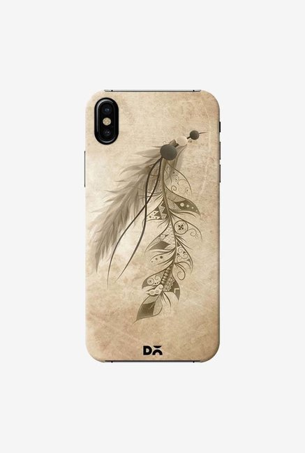DailyObjects Bohemian Feather Case Cover For iPhone X