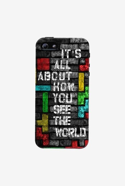 DailyObjects How You See The World Case For iPhone 5/5S