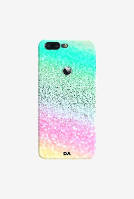 DailyObjects Unicorn Rainbow Glitter Case Cover For OnePlus 5T