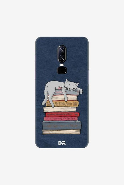 DailyObjects How to Chill Like A Cat Case Cover For OnePlus 6