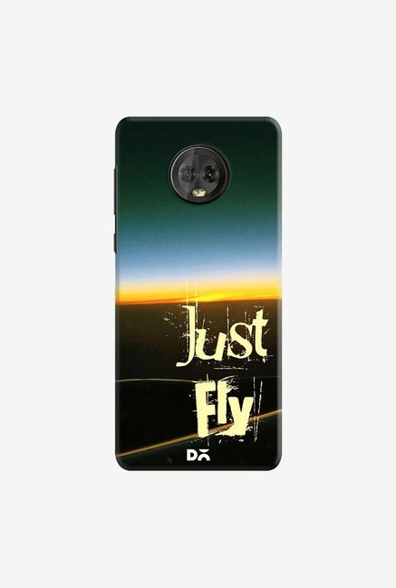 DailyObjects Just Fly Case Cover For Motorola Moto G6