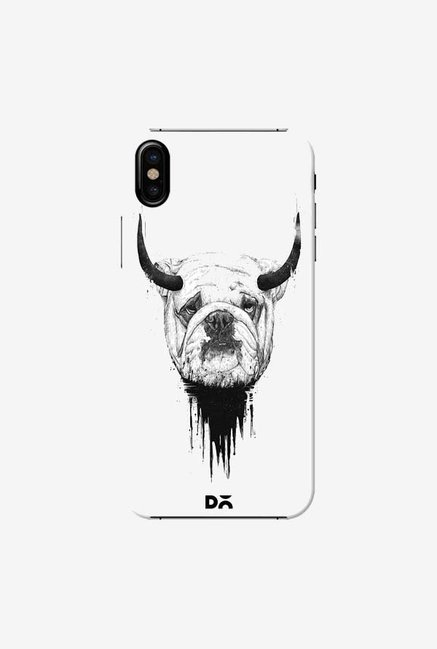 DailyObjects Bull Dog Case Cover For iPhone X