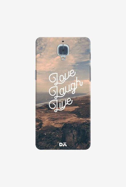DailyObjects Love Laugh Live Case Cover For OnePlus 3T