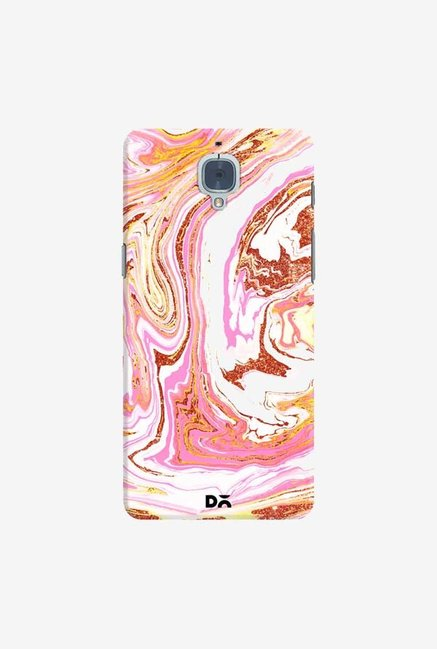 DailyObjects Marble Copper Dust Case Cover For OnePlus 3T