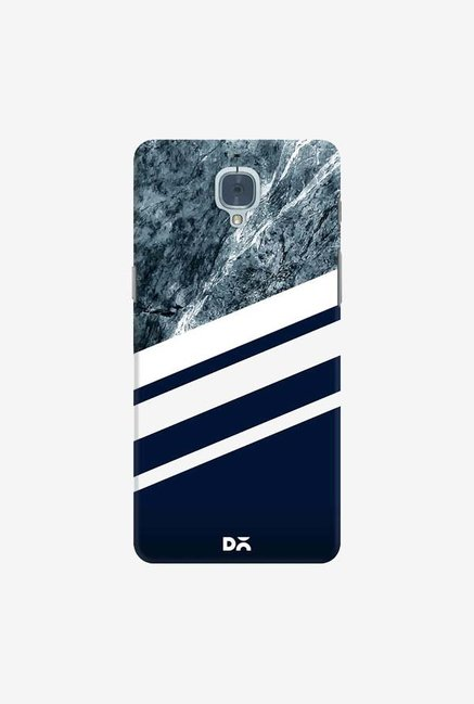 DailyObjects Marble Navy Case Cover For OnePlus 3T