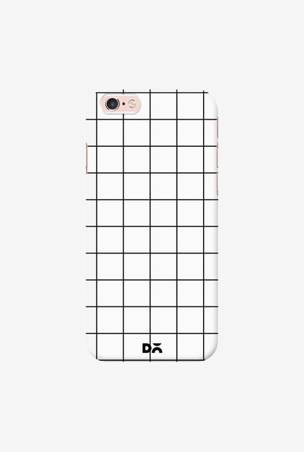 DailyObjects Grid White Case Cover For iPhone 6S