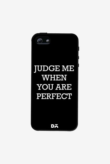 DailyObjects Judge Me Case Cover For iPhone 5/5S