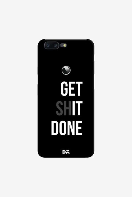 DailyObjects Get Shit Done Case Cover For OnePlus 5T