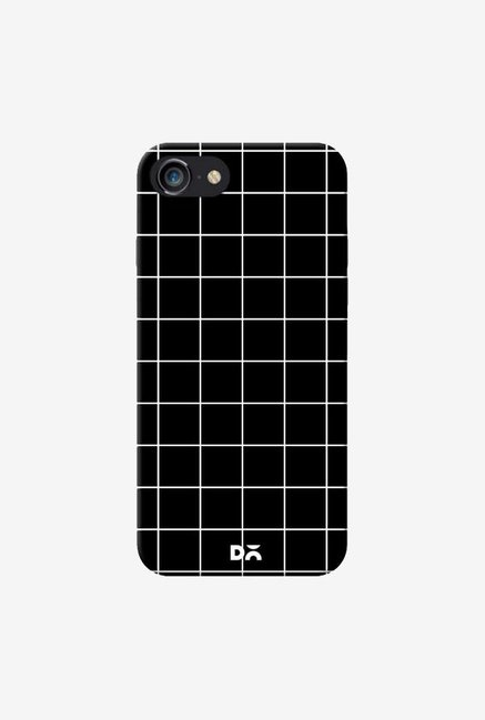 DailyObjects Grid Black Case Cover For iPhone 7