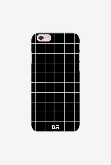 DailyObjects Grid Black Case Cover For iPhone 6S