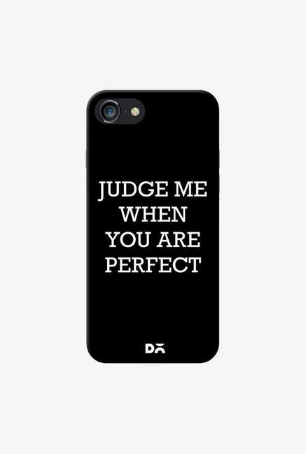 DailyObjects Judge Me Case Cover For iPhone 8
