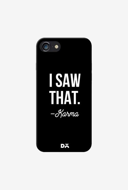 DailyObjects Karma Case Cover For iPhone 8
