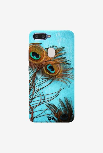 DailyObjects 3 Peacock Feathers Case Cover For Oppo F9