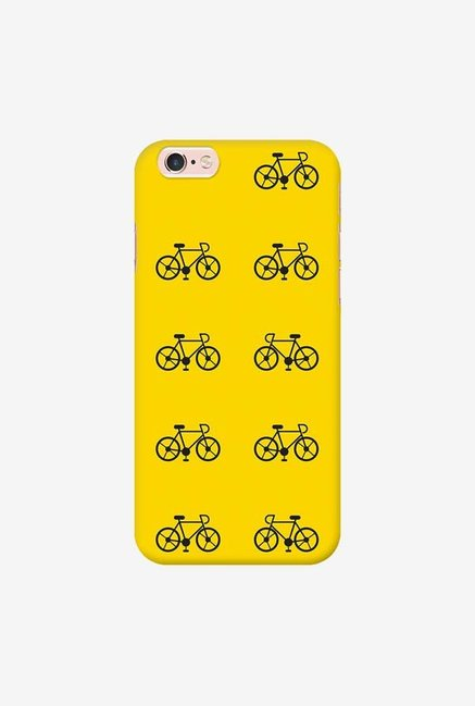 DailyObjects Yellow Cycle Case For iPhone 6s