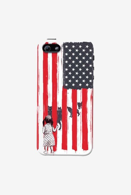 DailyObjects Little Girl And Wolves Case For iPhone 5/5S