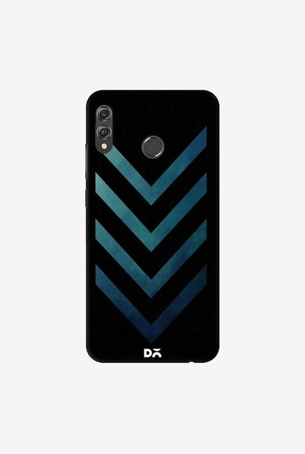 DailyObjects Dark Blue Arrow Case Cover For Huawei Honor 8X