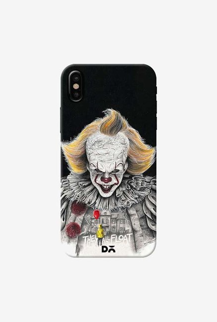 DailyObjects IT Black Case Cover For iPhone X