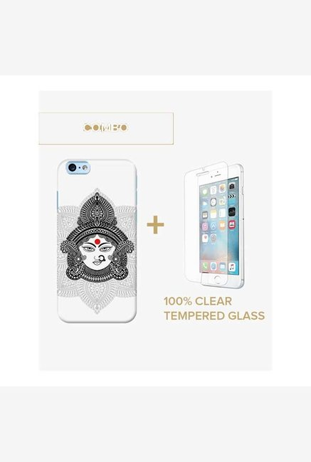 DailyObjects Goddess Durga Case For iPhone 6 Plus Combo