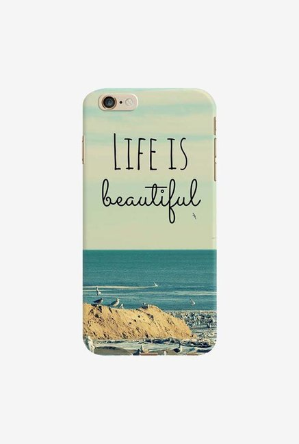 DailyObjects Life Is Beautiful Case For iPhone 6 Plus
