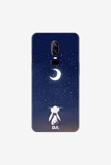 DailyObjects Moon Bunny Case Cover For OnePlus 6
