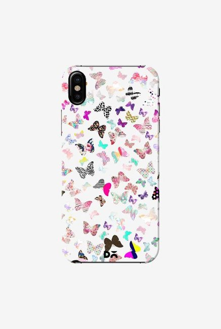 DailyObjects Butterfly Paradise Case Cover For iPhone X